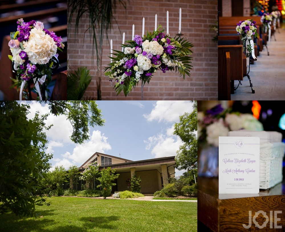 Dow Academic Center Brazoria County Wedding Photographer St. Michaels Church Lake Jackson Wedding