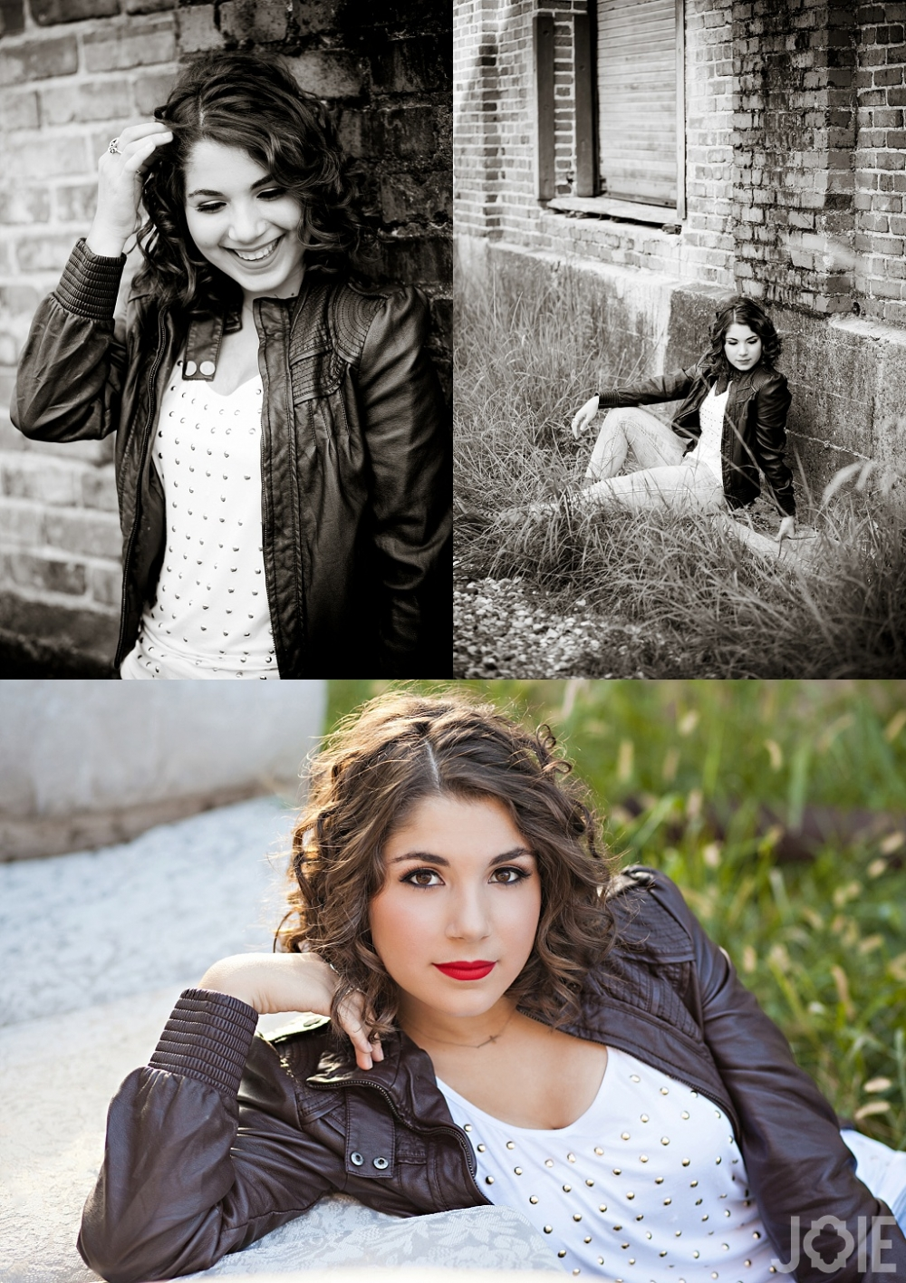 Memorial high school senior photography