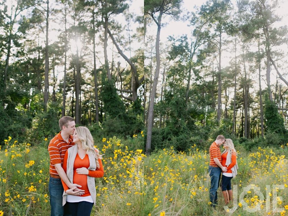 Houston Texas maternity photographer JOIE Photographie