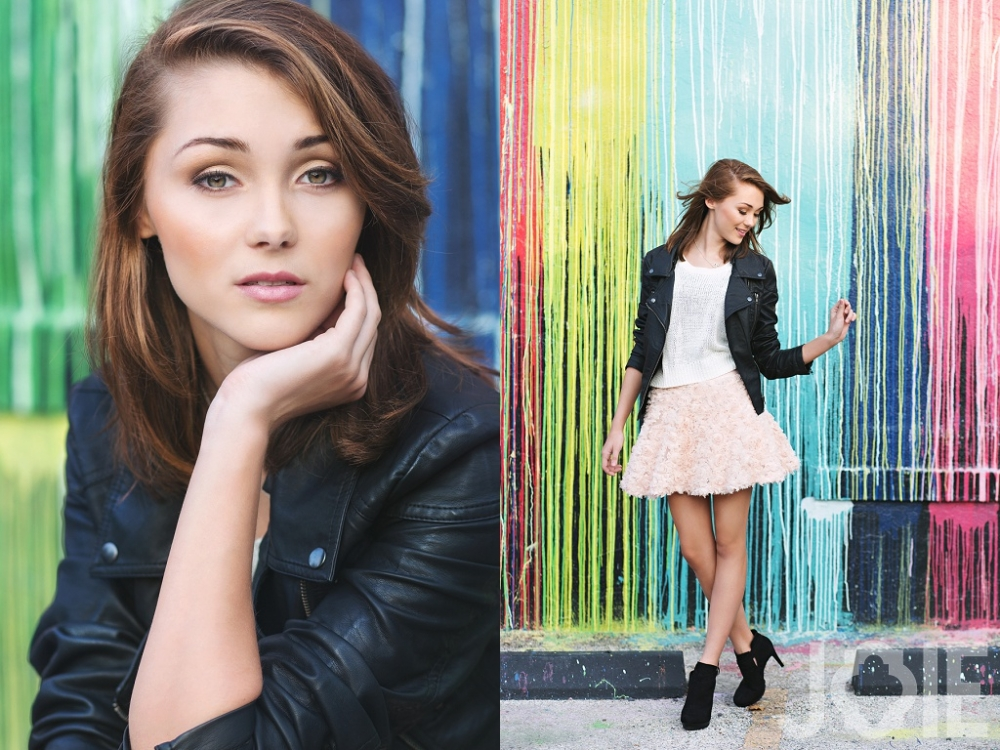Eden High School Senior Model Joie Photographie