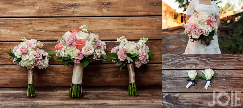 Wedding flowers at Agave Real by Joie Photographie