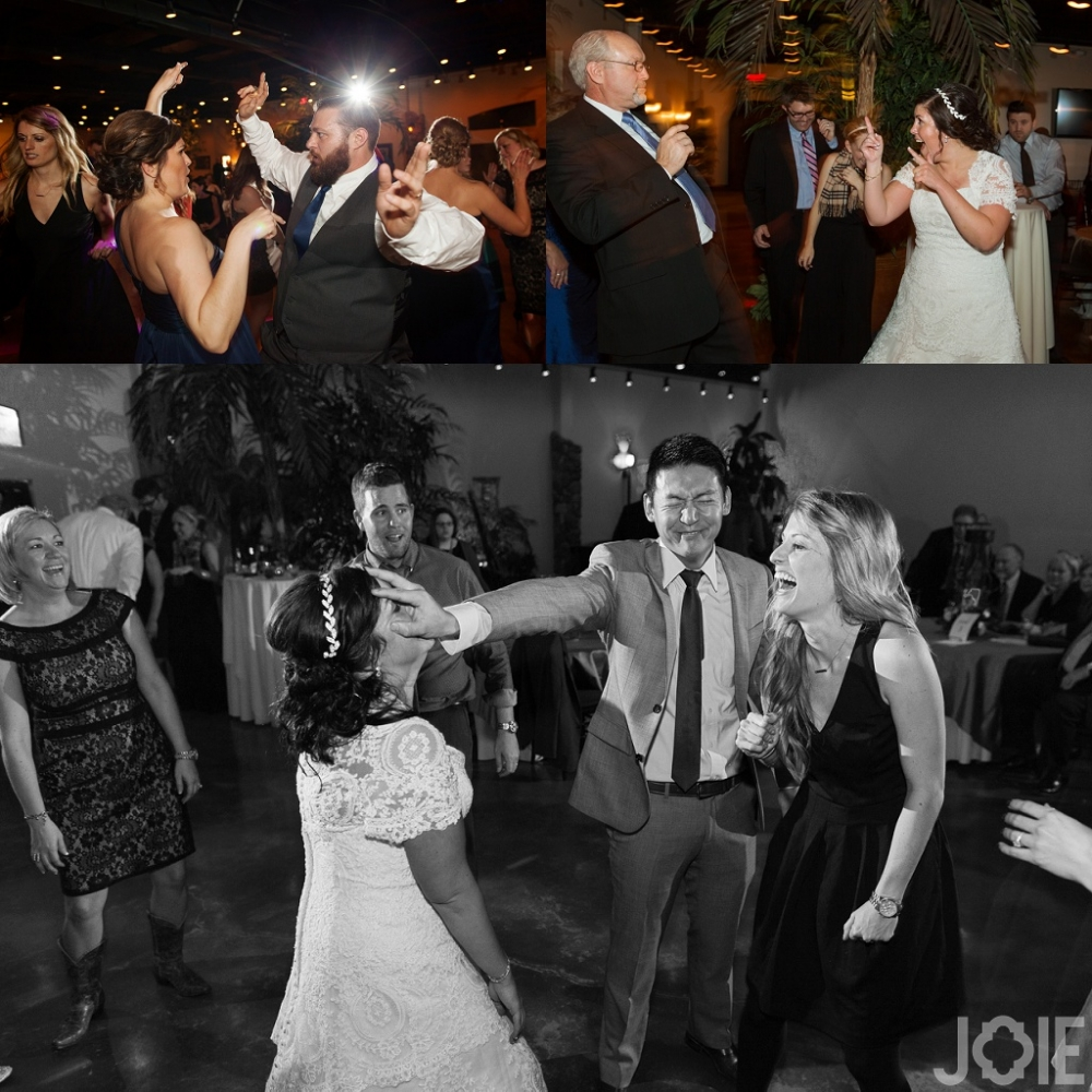 Wedding reception at Agave Real by Joie Photographie Katy