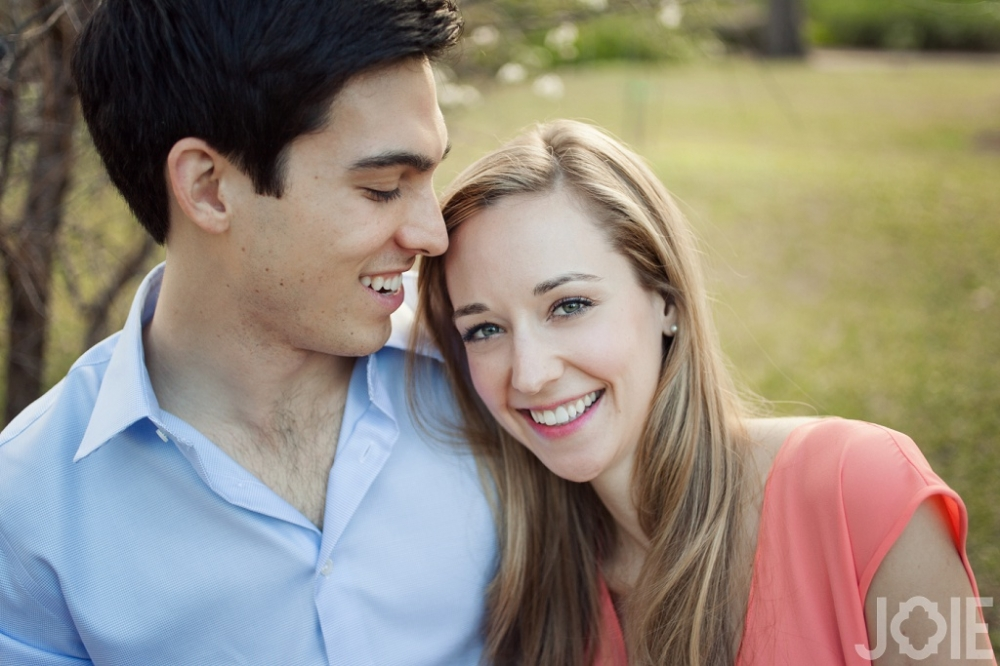 Laura & Phillip's engagement session in Houston by Joie Photographie