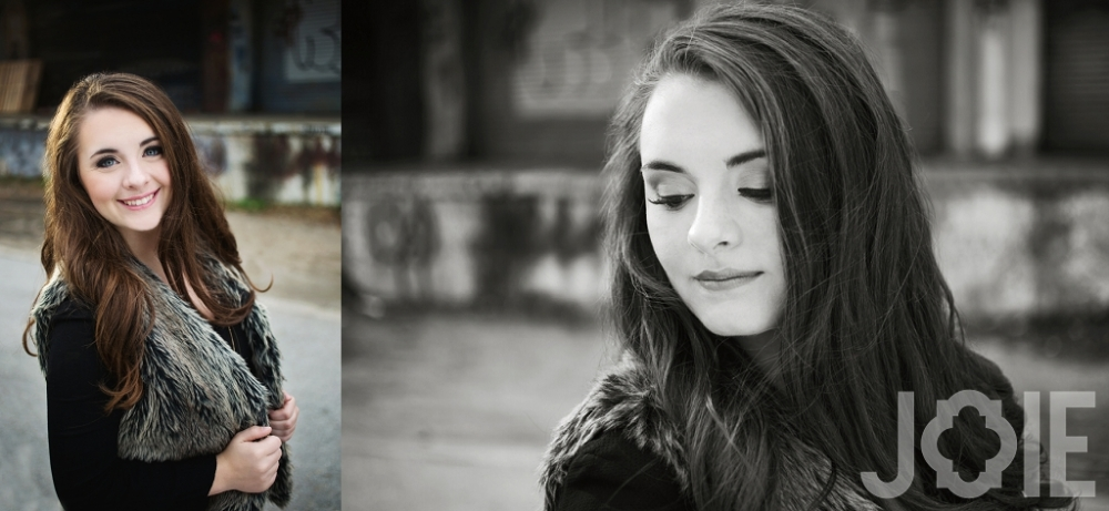 Modern stylish senior pictures in houston texas of a Memorial Markettes