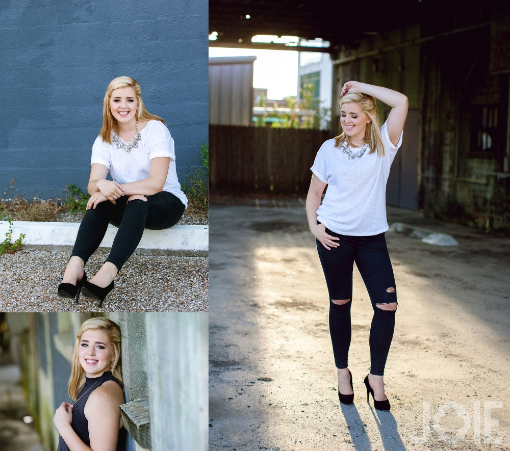Stratford high senior high school pictures by Joie Photographie top Houston senior photographer