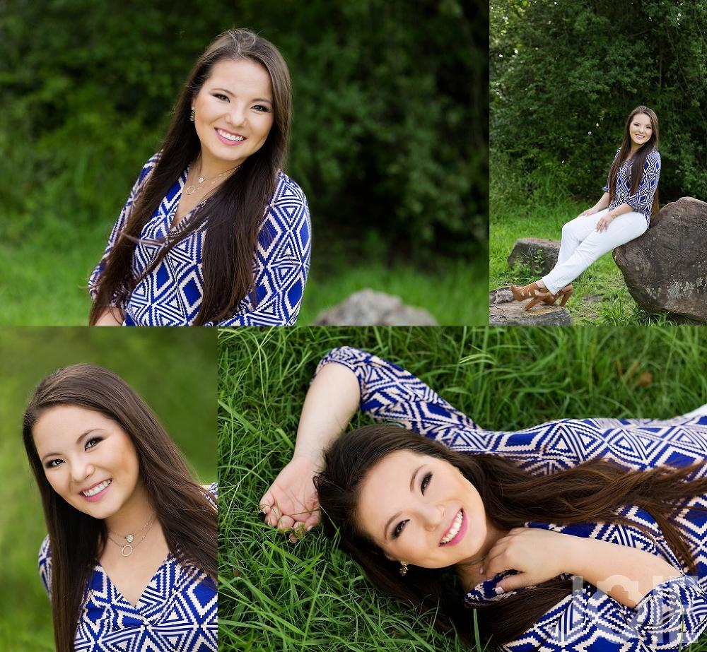 Alina Houston Memorial High School senior portraits by Joie Photographie