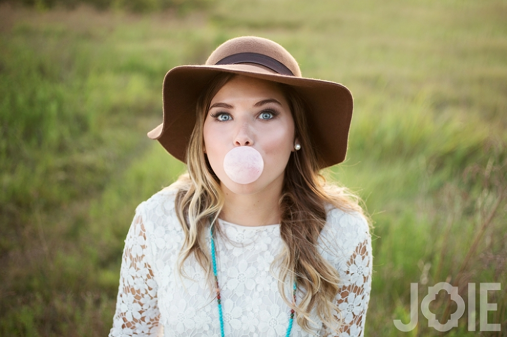 Second Baptist school senior pictures taken by Joie Photographie