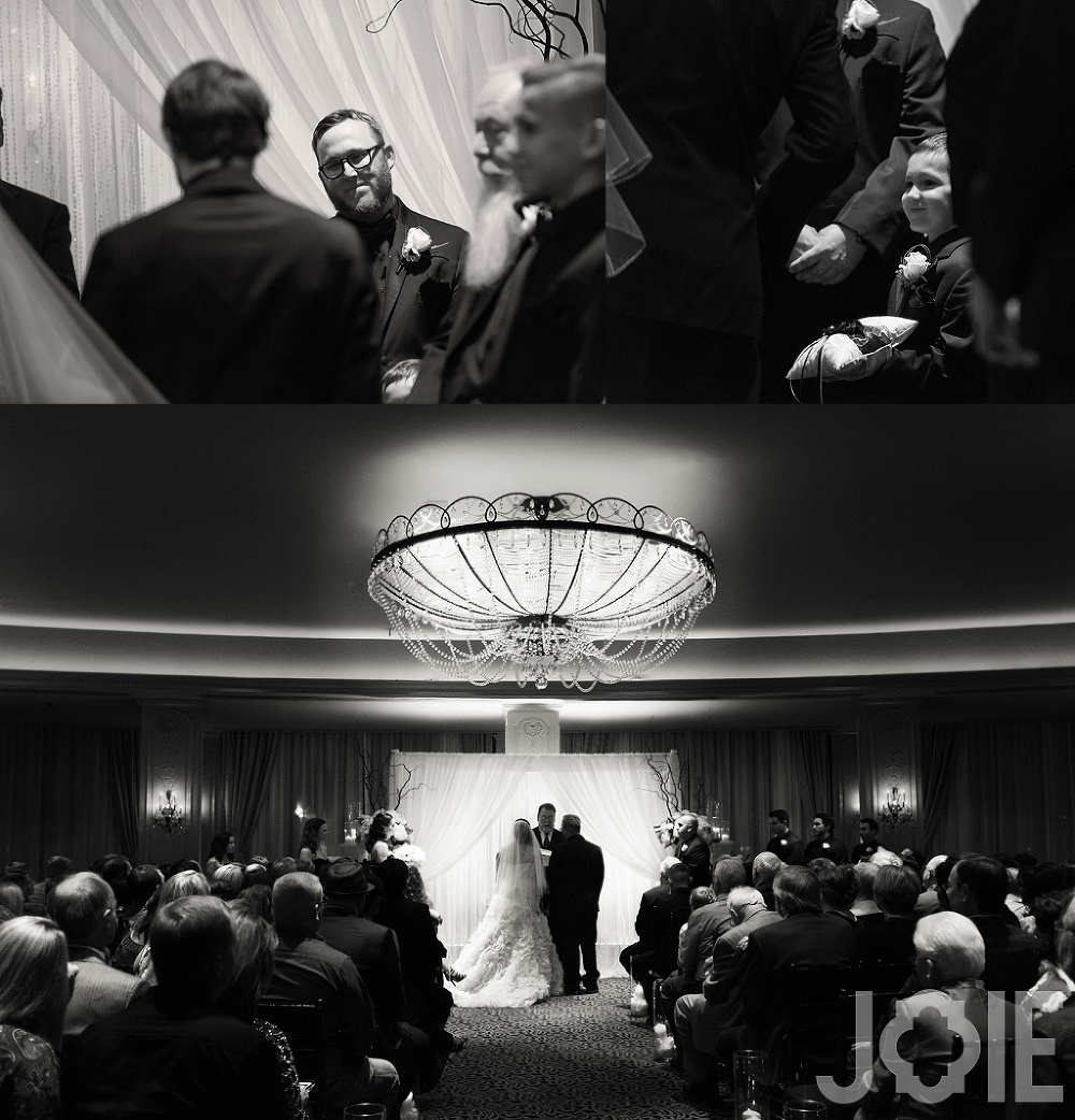 hotel zaza wedding ceremony for Megan and Mike