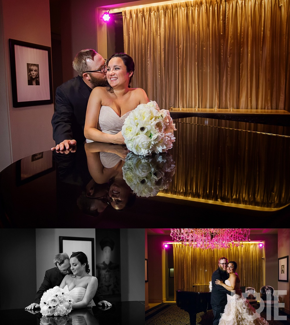 hotel zaza wedding portraits