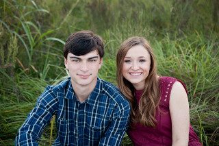 Twins, sister and Brother, Lara and Sean, from Stratford High School. Senior pictures by JOIE Photographie