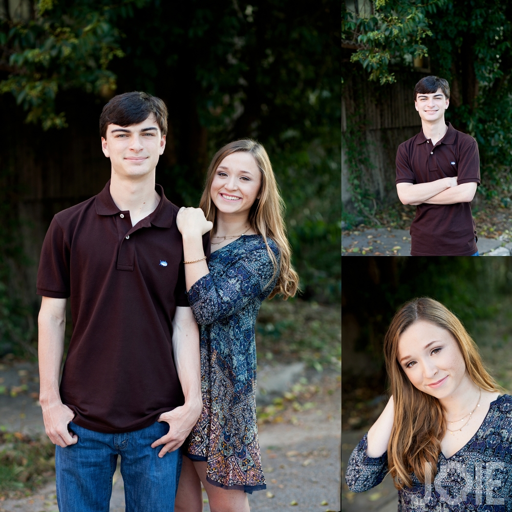 Houston Stratford senior photographer sister and brother senior pictures
