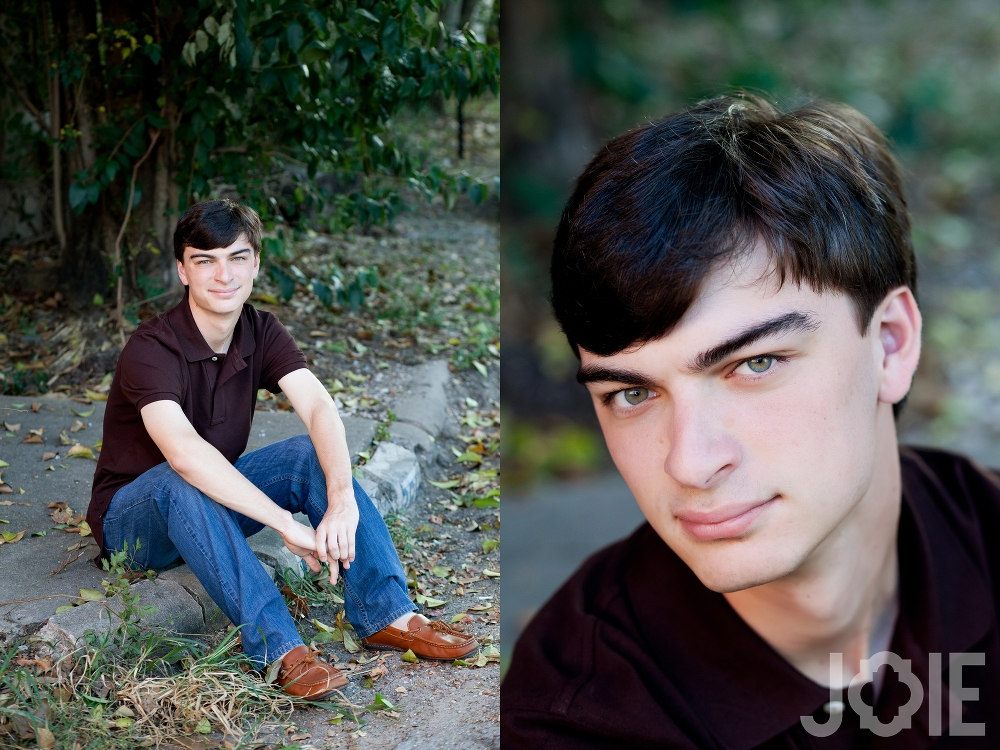 Twins, sister and Brother, Lara and Sean, from Stratford High School - Senior pictures by JOIE Photographie