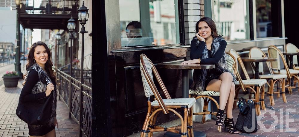 Texas best modern houston downtown senior photographer
