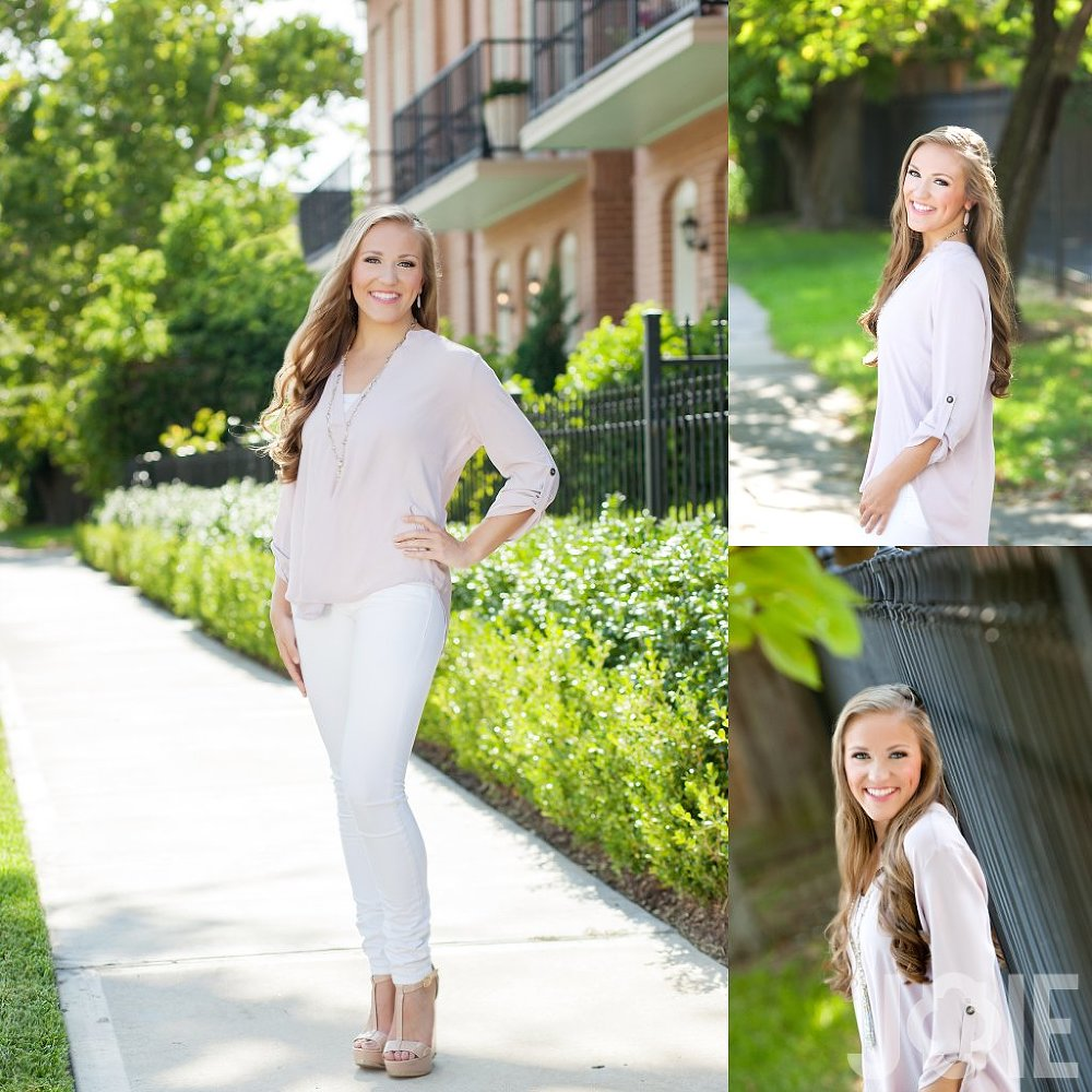 Joie spokesmodel from Memorial High School Markettes