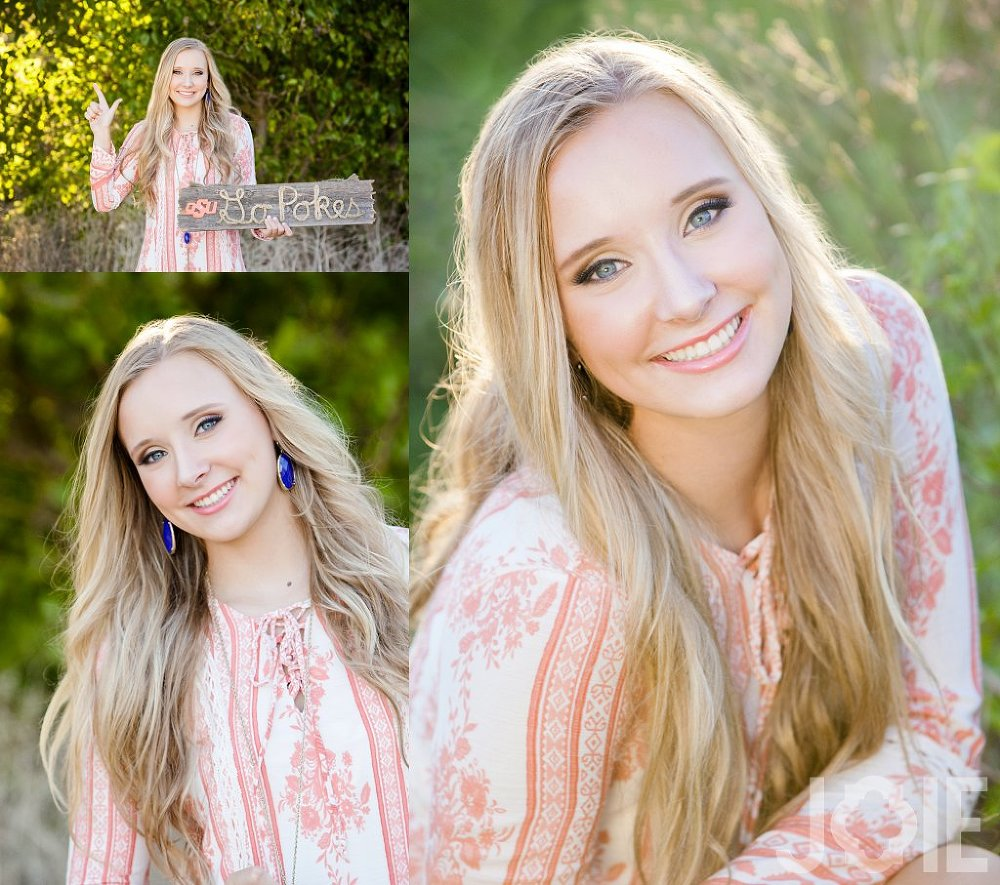 Houston Downtown senior session with Maddie